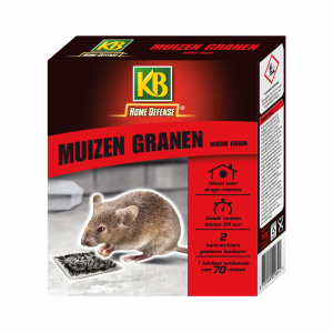 KB Home Defense Muizengranen Magic Grain 2 x 10g_lepona